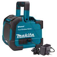 Makita Baustellen-Lautsprecher Stereo Blau und Schwarz