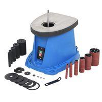 vidaXL Oszillierender Spindelschleifer 450 W Blau