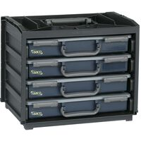 Raaco Sortimentskasten Handy Box mit 55x4 Assorter 136242