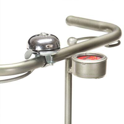 vidaXL Standleuchte im Fahrrad-Design Eisen