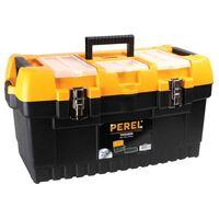 Perel Werkzeugkasten mit Metallschlössern 56,4 x 31 x 31 cm OM22M