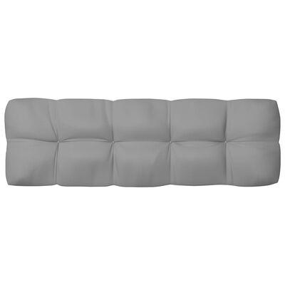 vidaXL Palettensofa-Kissen 2 Stk. Grau