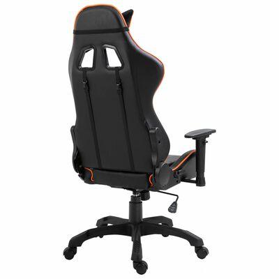 vidaXL Gaming-Stuhl Orange Kunstleder