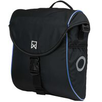 Willex Fahrradtasche 300 S 12 L Schwarz und Blau
