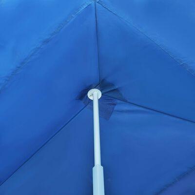 vidaXL Faltzelt Partyzelt Pop-Up mit 5 Seitenwänden 3 x 9 m Blau