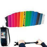RHOMBUS Parafoildrachen Regenbogen 160 x 55 cm