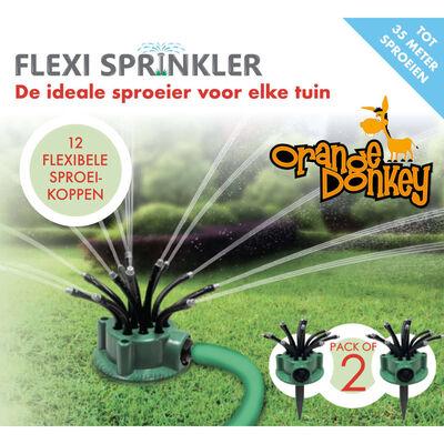 Orange Donkey Sprinkler-Set Flexi Point