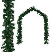 vidaXL Weihnachtsgirlande PVC 20 m