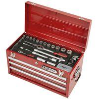 """KS Tools 100-tlg. Superlock Werkzeug-Satz 1/4"""" + 1/2"""""""