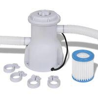 vidaXL Pool-Filterpumpe 300 gal/h
