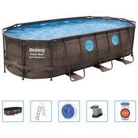 Bestway Power Steel Swim Vista Series Swimmingpool-Set 549x274x122 cm