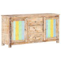 vidaXL Sideboard 151x40x75 cm Raues Akazienholz