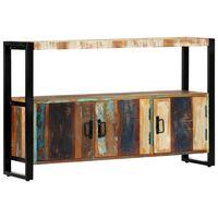 vidaXL Sideboard 120x30x75 cm Altholz Massiv