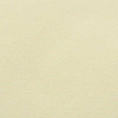 vidaXL Sonnensegel Oxford Gewebe Dreieckig 3,6 x 3,6 x 3,6 m Creme