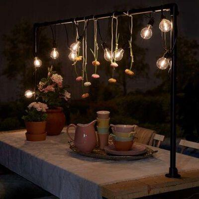 Luxform Garten-Partyleuchten-Set mit 10 LEDs Tahiti