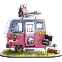 Robotime Miniatur Bausatz Auto Happy Camper