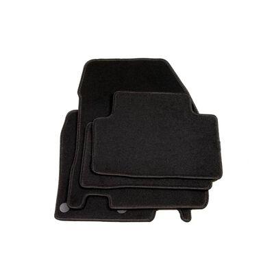 vidaXL Autofußmatten-Set 4-tlg. für Nissan Qashqai