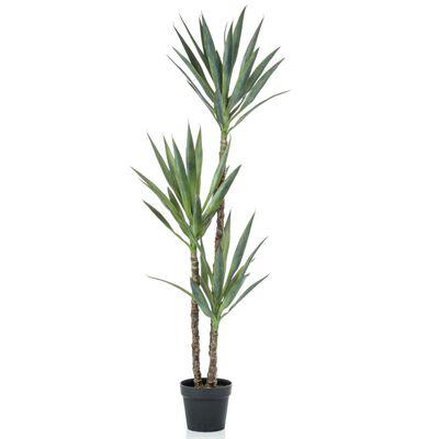Emerald Künstliche Yucca im Topf 150 cm