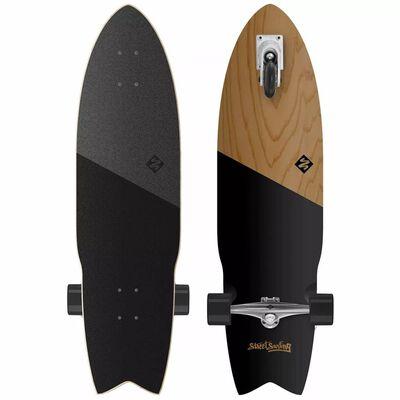 Street Surfing Pumping Longboard Shark Attack 91,4 cm KOA BLACK