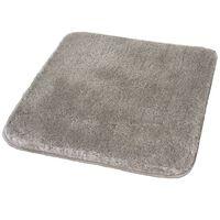 Kleine Wolke Badteppich Relax 55 x 65 cm Grau