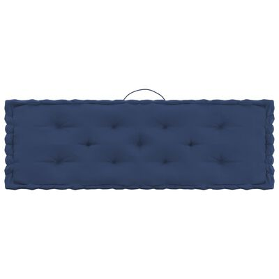 vidaXL Palettenkissen 6-tlg. Hellmarineblau Baumwolle