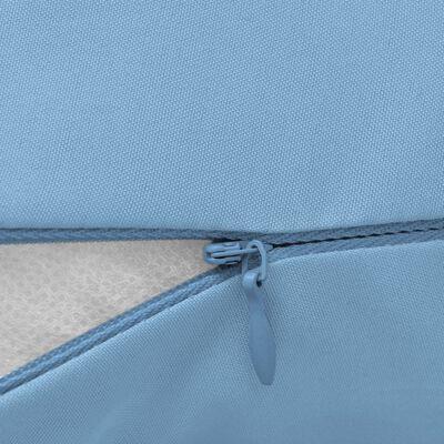 vidaXL Schwangerschaftskissen 40x170 cm Hellblau