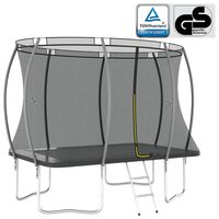 vidaXL Trampolin-Set Rechteckig 274x183x76 cm 150 kg