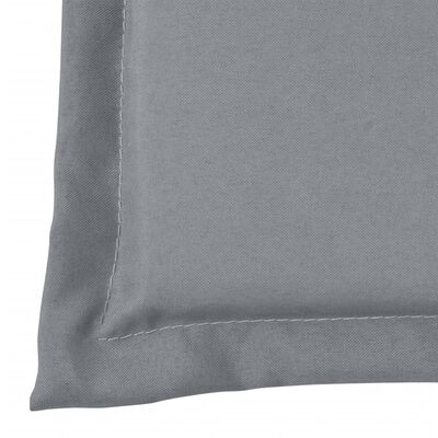 vidaXL Gartenbank-Auflage Grau 120×50×3 cm