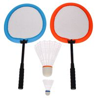 Get & Go Badminton-Set XXL Orange und Blau