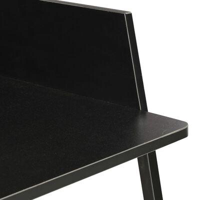 vidaXL Schreibtisch Schwarz 90x60x88 cm