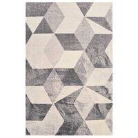 vidaXL Teppich Bedruckt Beige 140x200 cm Polyester