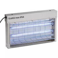 """Kerbl Elektrischer Fliegenvernichter """"EcoKill Inox IPX4"""" 2x15 W 299935"""