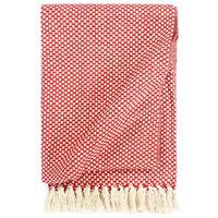 vidaXL Überwurf Baumwolle 220x250 cm Rot