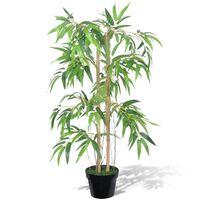 """Künstlicher Bambusbaum """"Twiggy"""" mit Topf 90 cm"""
