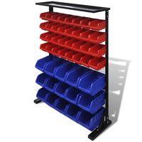 Werkstattboxen mit Ständer Blau & Rot