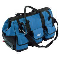 Draper Tools Rollende Werkzeugtasche 60×30×35 cm Blau und Schwarz 58 L