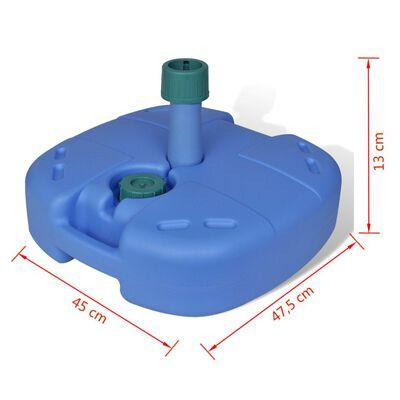 Tragbarer Sonnenschirmständer mit Sand/Wasser befüllbar