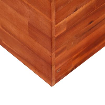 vidaXL Garten-Hochbeet Akazienholz 150x50x50 cm