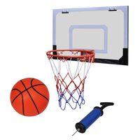 Mini Basketballkorb Set mit Ball und Pumpe- Innenbereich