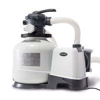 Intex Krystal Clear Sandfilterpumpe 26648GS 10,5 m³/h