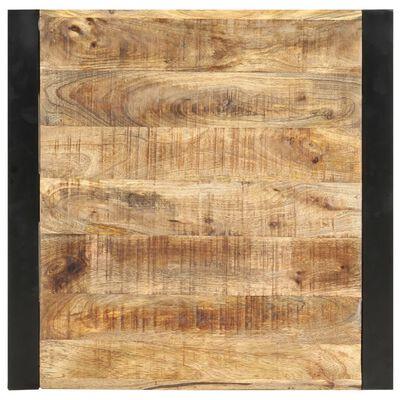 vidaXL Bartisch 60 x 60 x 110 cm Massivholz Mango
