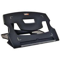 DESQ Notebook-Tischständer 28,5 x 21 x 1 cm Schwarz