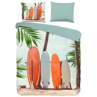 Good Morning Bettwäsche-Set SURF 240x200/220 cm Mehrfarbig