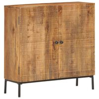 vidaXL Sideboard 75 x 30 x 75 cm Massivholz Mango