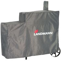 Landmann Grill-Abdeckhaube Premium L 130x60x120 cm Grau 15708