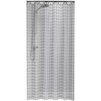 Sealskin Duschvorhang Hammam 180 cm Silber 210861318