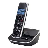 Profoon Dect Telefon mit großen Tasten PDX-2708 Schwarz