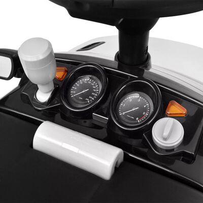 Land Rover 348 Kinder-Rutschauto mit Musik Weiß