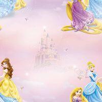 Kids at Home Tapete Pretty as A Princess Rosa und Blau