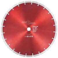 vidaXL Diamant-Trennscheibe Stahl 350 mm